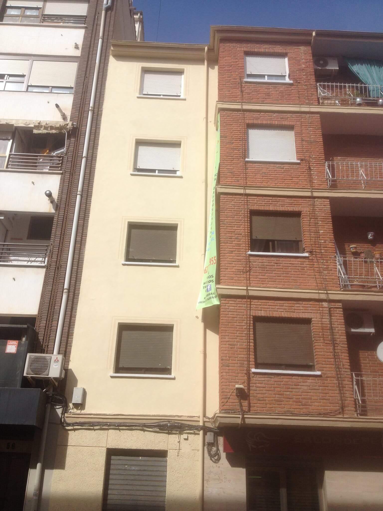 Fachada 4 Reformas Albacete Vicente Navarro