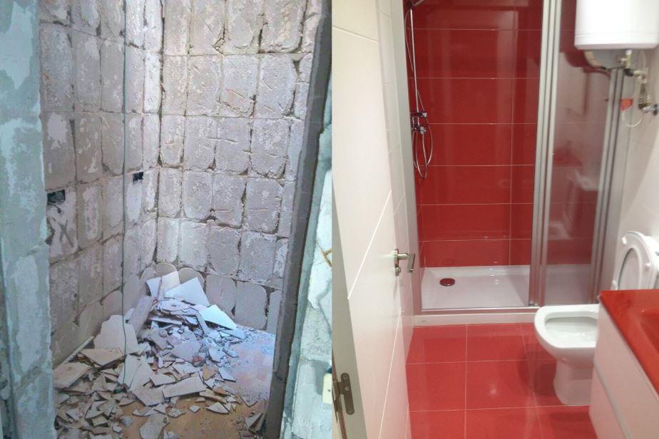 baño antes despues 5 Reformas Albacete Vicente Navarro