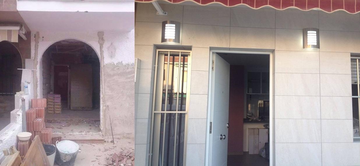 Puerta Comparacion Reformas Albacete Vicente Navarro